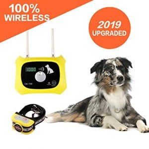 Wireless Dog Fence Electric Pet Containment System Review